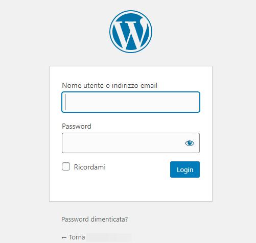 Accedi a WordPress: come trovare l'URL di login per accedere al pannello di controllo